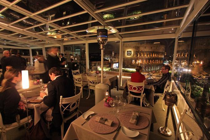 Beautiful Ristorante La Terrazza Roma Contemporary - Home Design ...